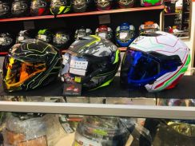 Helmet MHR OF263 NV Jet Design Open Face (dual vis