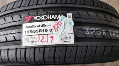Tayar Baru Yokohama ES32 195 55 15 Tyre New 2019