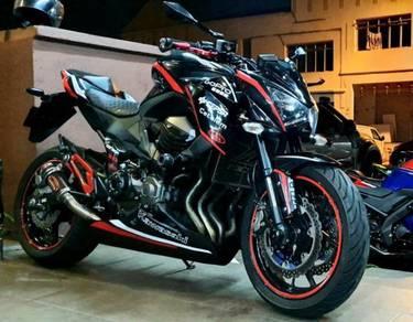 Kawasaki Z800 black phantom fully loaded z8 PROMO
