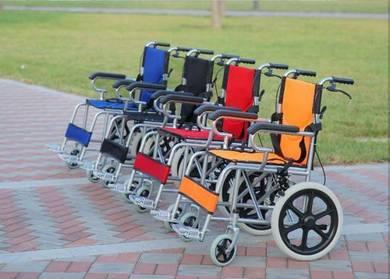 Lightweight Wheelchair Kerusi Roda LIPAT warna2