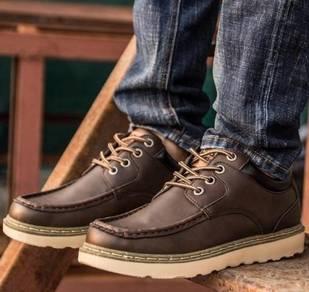 F0250 Dark Brown Business Martin Boot Kasut Shoes