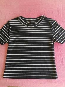 Fashion Stripe Casual T-shirt