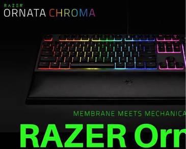 RAZER Ornata chroma rarely used