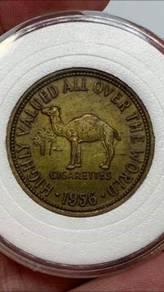 Rare camel cigarette token 1956