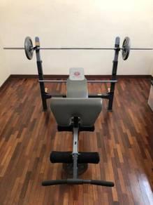 Gym Bench Marcy Olympic MWB716