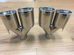 BMW Msport Exhaust Tip Double Output Tail Pipe