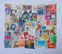 Netherlands stamps mix 50 pcs