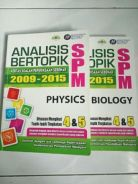 SPM Biology and Physics Pass Year Questions