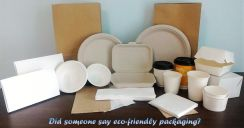 Biodegradable & Paper Food Packaging