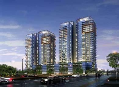 Zero downpayment condo service apartment - Plentong, Johor