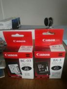 Canon bx3, bc03 ink