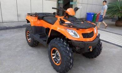 NEW ATV MOTOR 600cc 4x4 yellow