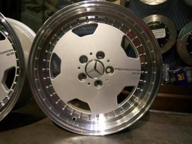 Performa 25 wheel 17inc rim for mercedes w124