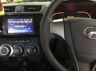 Perodua BEZZA dvd without gps player