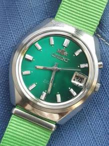 (A190) Vintage Green Dial Orient Automatic Watch