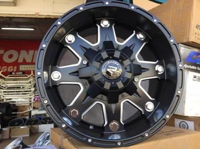 Sport Rim 4X4 RAXER EURO Flat Black 17 Inch 4X4