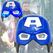 Captain America Mask with LED