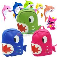 Baby Shark bag with 3 colour 1-6 year