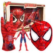 Spiderman Toy-Spiderman 3 in 1 Set Collection