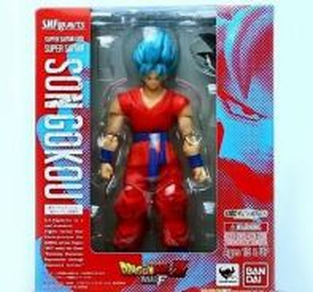 Son Gokou Super Saiyan God SHF Dragon Ball Z F