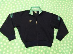 ADIDAS SWEATER EMBROUDERED trefoil logo by descent