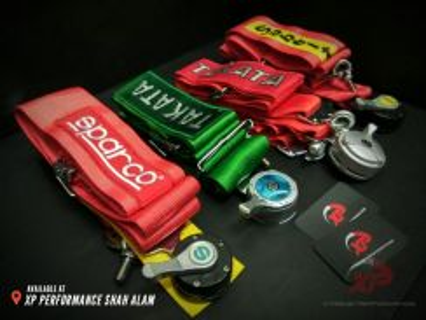 Sparco 4 point belt quick release takata sabelt