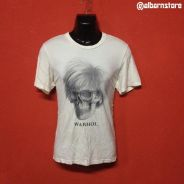 Baju ANDY WARHOL x BIAS japan brand t shirt