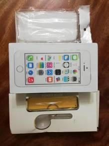 Iphone SE 64gb Gold Fullset New Inbox