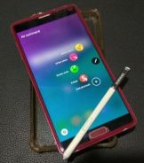 Samsung Galaxy Note 4 Limited Red