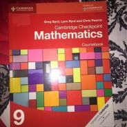 Cambridge checkpoint mathematics course book 9
