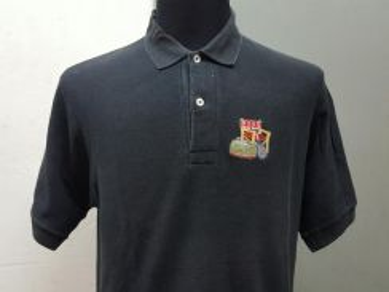 (S)HUGO BOSS Black Polo Shirt -L