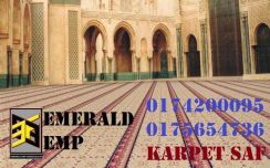 Karpet saf surau carpet mosque masjid utara