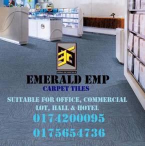 Loop carpet karpet plain tana standard pejabat w2w