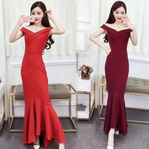 Red black prom bridesmaid dress gown RBP0763