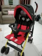 Stroller mickey mouse preloved