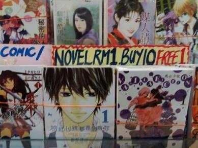 Novels/Comics
