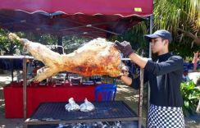 Kambing bakar wedding/aqiqah
