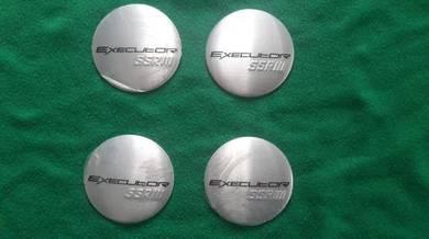 Executor ssr sport rim hubcap stickers metal 4pcs