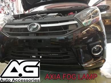 Axia 2017 Standard E/G Fog Lamp (Chrome) FREE INS
