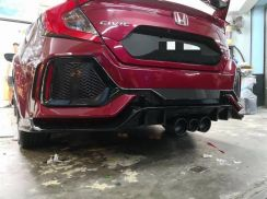 Honda civic fc type r rear bumper bodykit pp