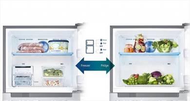 0% gst New SAMSUNG 450L Black G-Door Refrigerator