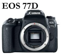NEW Canon EOS 77D Digital SLR Camera BODY