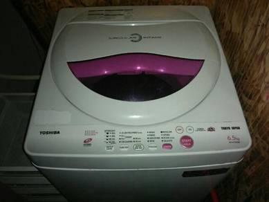 Toshiba, wash mashine, 6.5