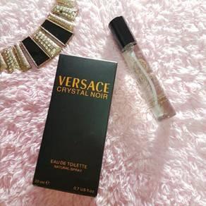 Versace crystal noir perfume
