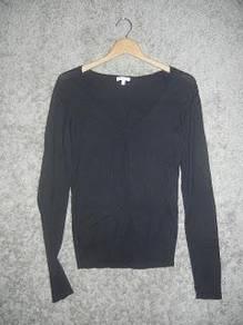 Jaker 154 MASSIMO DUTTI WOMAN black ladies shirt