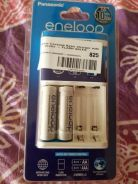 Panasonic eneloop charger with 2 batteries Sealed
