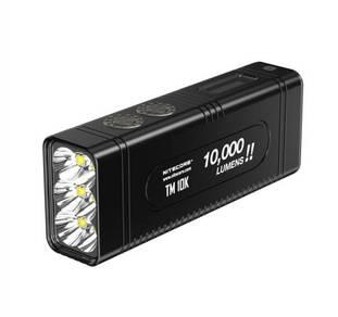 Nitecore TM10K 6xCREE XHP35 Rechargable Flashlight