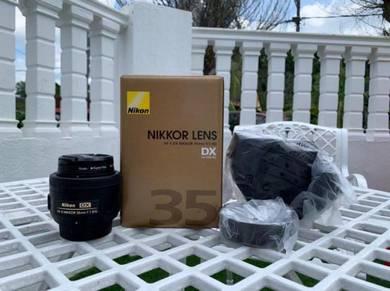 (Nikon) Nikkor Lens AF-S DX NIKKOR 35mm f/1.8G