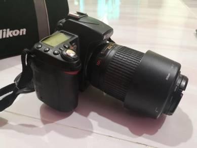Nikon D90 camera +nikon lens 55-200mm+18-55mm
