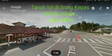 Tanah lot di Gong Kepas Kg Raja Besut Terengganu